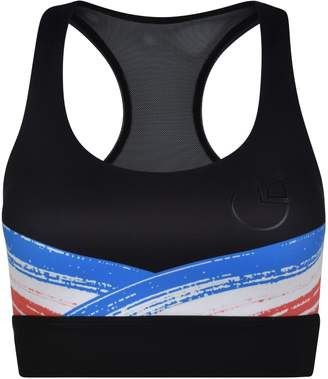 Pocket Sport - Impasto Support Sports Bra In Black