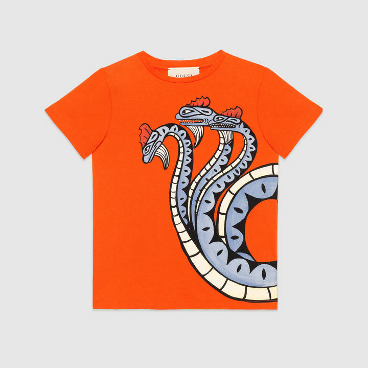 "Children's cotton t-shirt with ""Modern Future"" print 2"