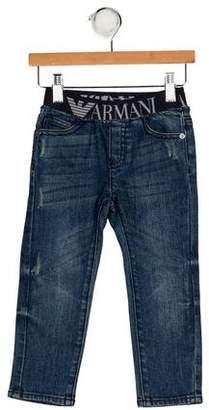 Giorgio Armani Baby Boys' Five Pocket Jeans