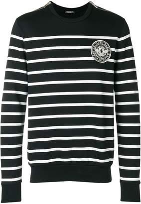 Balmain striped mariniere sweater