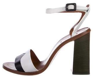 Paul Smith Leather Ankle-Strap Sandals