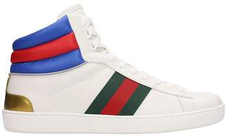 076cf5827 Men Gucci Ace White Sneakers - ShopStyle UK