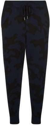 Zoë Jordan Cashmere Camouflage Sweatpants