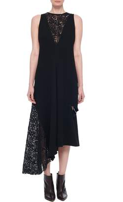 Tibi Guipure Lace Sleeveless Dress
