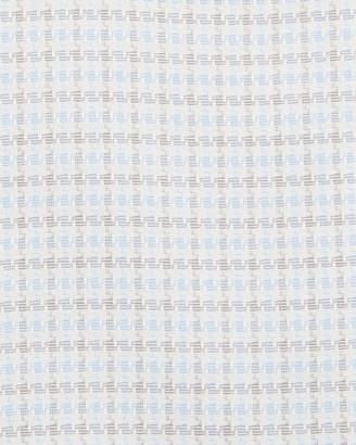 Neiman Marcus Men's Trim-Fit Non-Iron Dobby Check Dress Shirt