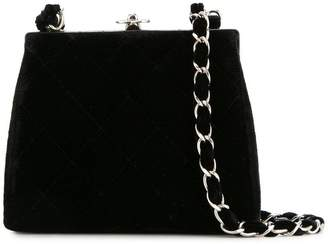 17f020dfe0536b Chanel Pre-Owned quilted CC chain shoulder bag