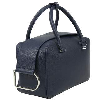 Delvaux Cool Box Navy Leather Handbags