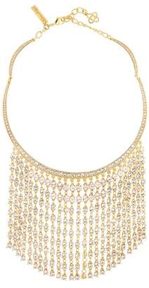 Oscar de la Renta Swarovski Crystal Accent Raindrop Necklace