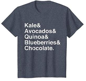 Kale & Avocados & Quinoa & Blueberries & Chocolate T-Shirt