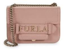 Furla Mini Carol Leather Chain Crossbody Bag