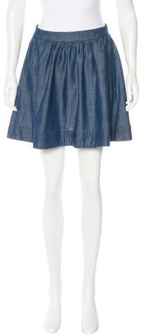 Kate Spade New York Girls' Chambray Mini Skirt w/ Tags