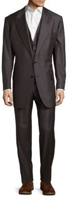 Three-Piece Wool Suit $5,670 thestylecure.com
