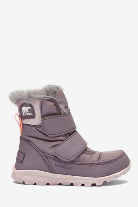 Sorel Girls Purple Childrens Whitney Strap Boots - Purple