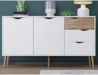 Langley Street Mateer 5 Drawer Sideboard