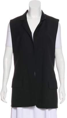 Alexander Wang Virgin Wool Open Front Vest