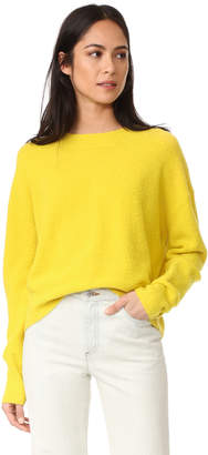 Vince Crop Sweater $320 thestylecure.com