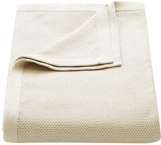 Flaxfield Linen Sala Lounge Pumice Knitted Lounge Throw