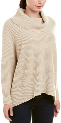 Autumn Cashmere Cowl Wool & Cashmere-Blend Sweater