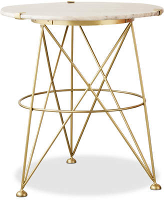 3r Studio Table with Sand Colored Marble Top