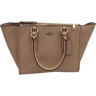 Coach Pink Leather Handbag