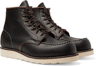 Red Wing Shoes 8849 6-Inch Moc Leather Boots - Men - Black