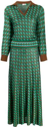 Rixo graphic print dress