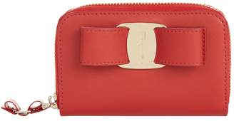 Salvatore Ferragamo Vara Bow Leather Purse