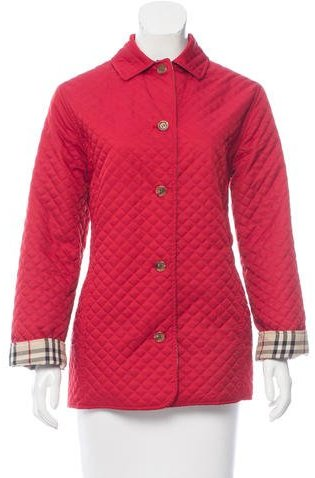 Burberry Short Quilted Coat