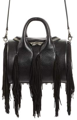 Alexander Wang Mini Rockie Fringe Leather Satchel