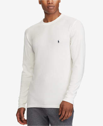 Polo Ralph Lauren Men Ultra Soft Waffle-Knit Thermal Shirt