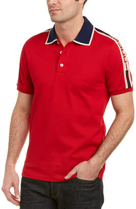 Gucci Stripe Cotton Polo Shirt