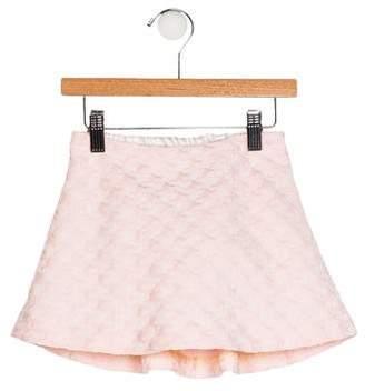 Helena Girls' Jacquard Flare Skirt
