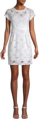 Nanette Lepore For The Roses Lace Mini Dress