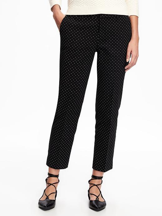 Relaxed Mid-Rise Harper Trousers for Women