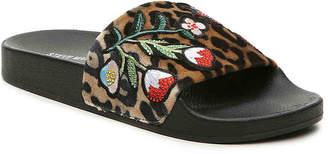 Steve Madden Patches Velvet Slide Sandal - Women's
