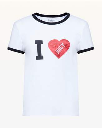 Juicy Couture I Heart Juicy Tee