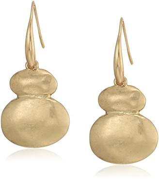 The Sak Women's Metal Double Drop Earrings