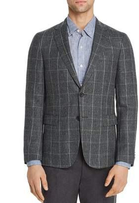 17482941e HUGO BOSS Nobis Windowpane Slim Fit Sport Coat