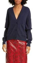 Tibi Double Cuff Cardigan