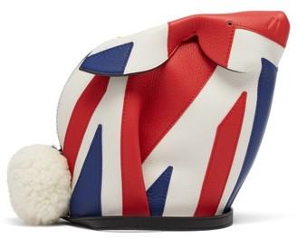 Loewe Bunny London Mini Leather Cross Body Bag - Womens - Red Multi