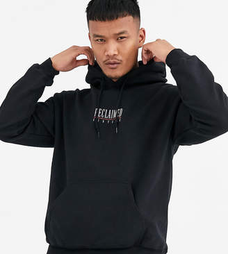Reclaimed Vintage inspired branded hoodie