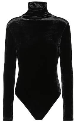 Unravel Velvet bodysuit
