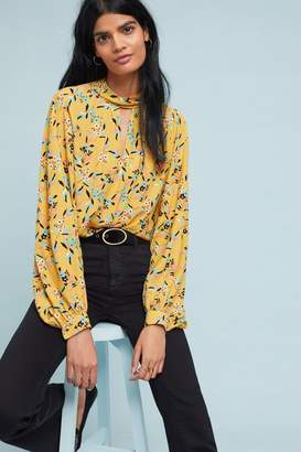 Anthropologie Meadowsweet Blouse