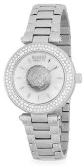 Versace Lion Stainless Steel Bracelet Watch