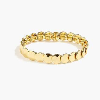 J.Crew Stacked circle stretch bracelet