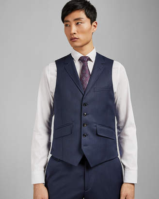 Ted Baker TEXREW Textured wool vest