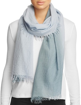 Eileen Fisher Ombré Fringe Scarf $118 thestylecure.com