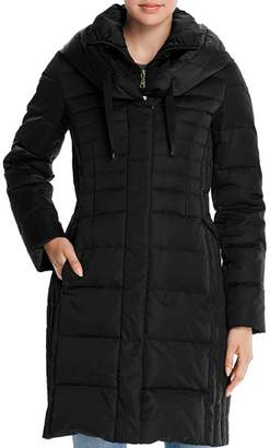 T Tahari Mia Fitted Puffer Coat