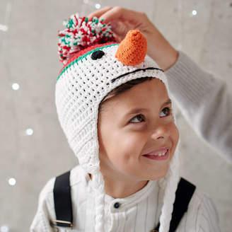 at Notonthehighstreet.com · viv   joe Infant s Hand Crochet Snowman Hat b0f6fc89499f