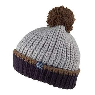 Joules Boy's Bobble Hat, Blue Navy, (Size:8-12)